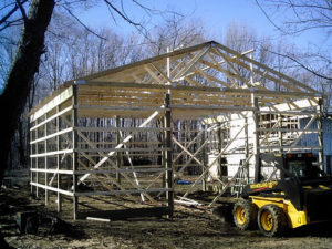 Garages Pole Barns Fredricks Construction Muskegon Mi